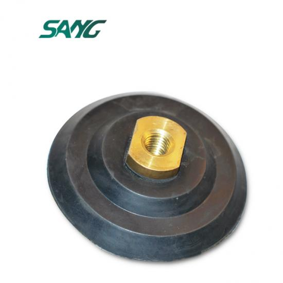 polishing backer pad,snail lock backer pad,plastic backer pad
