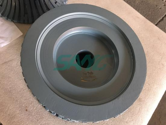 profiling a grinding wheel; profile wheels for stone