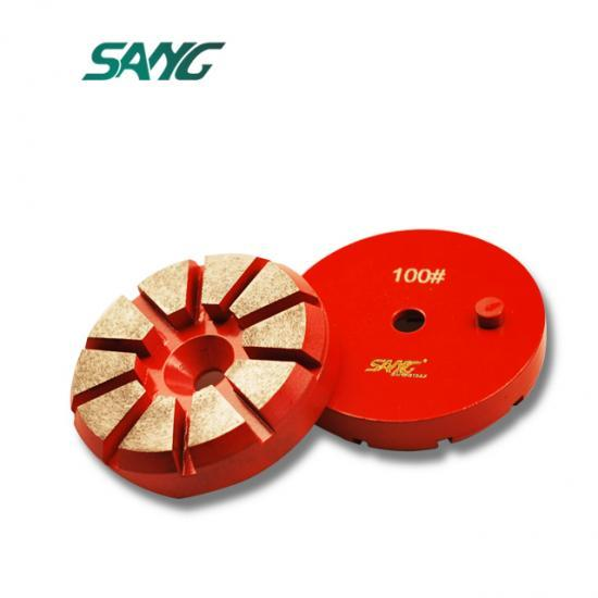 3inch 80mm plate for grinding concrete